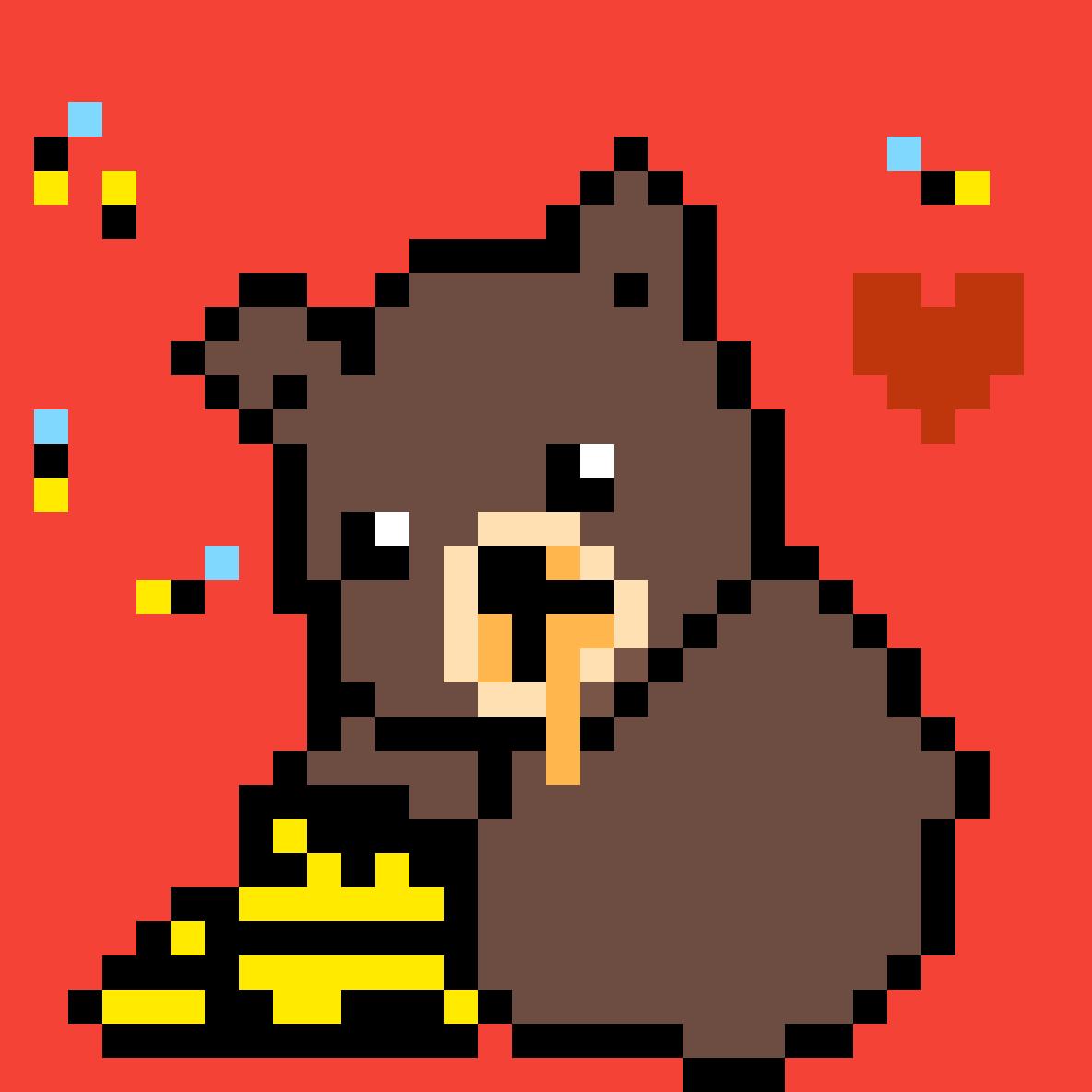 Honey bear oh honey bear by The-Frizzler