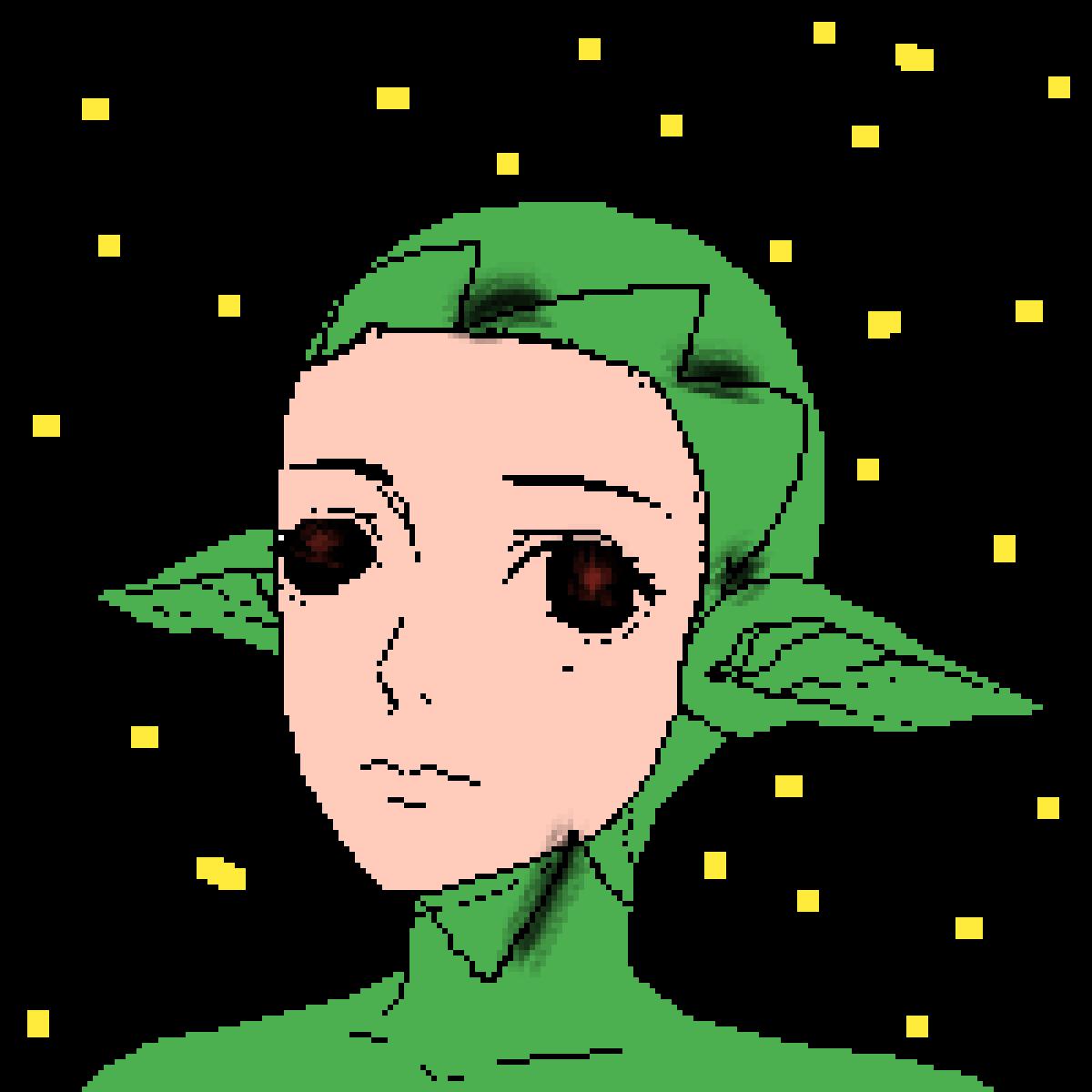 Alien that is human BEWARE by PinkieGames