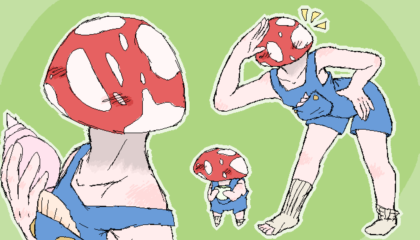 main-image-Mushroom Boy  by ronny-boi