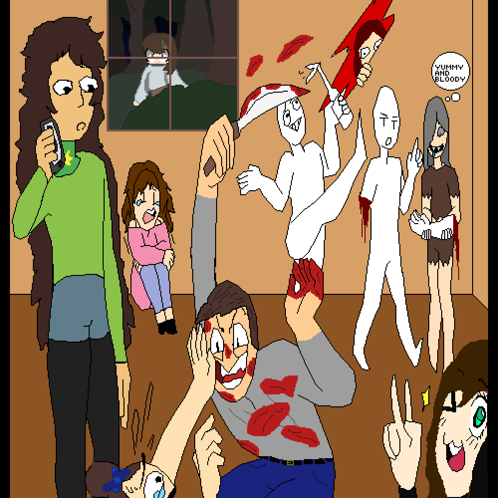 main-image- Micheal's on a Killing Spree Tonight  by Il-Aquilus