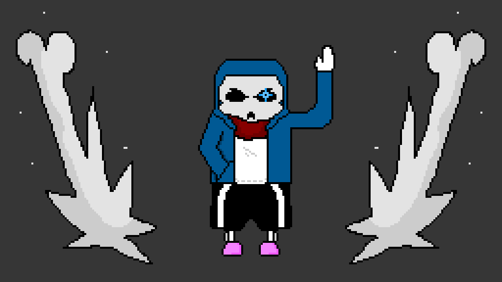 Bad Time Sans by QueerAesthetic