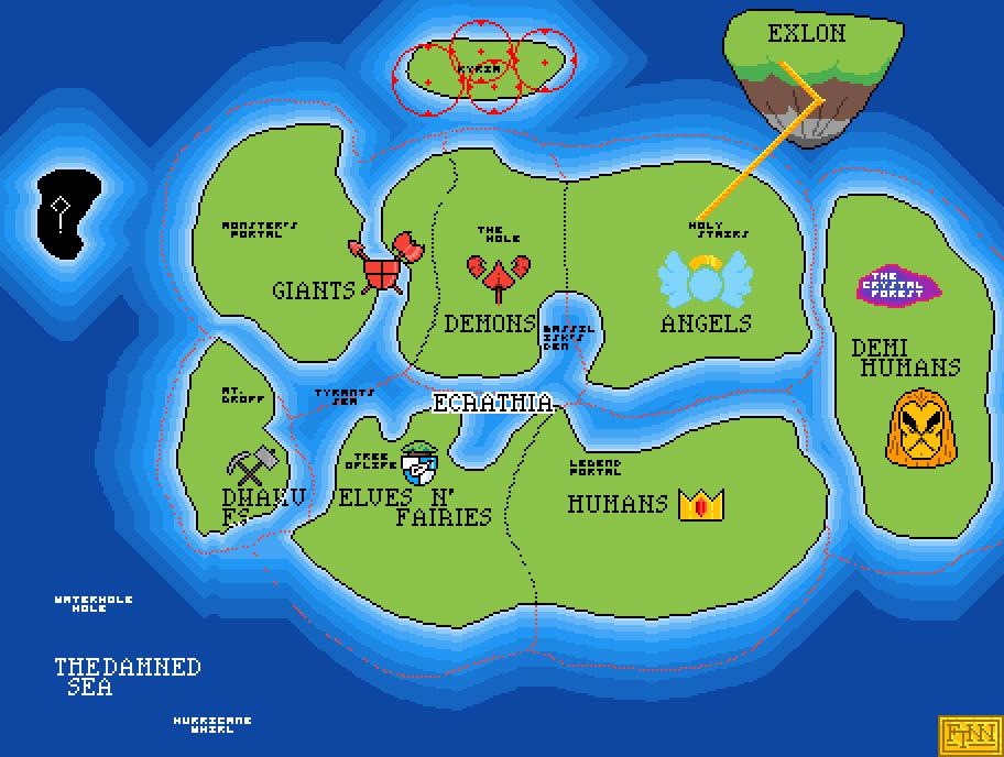 main-image-Map of Ecrathia  by Finnasdf