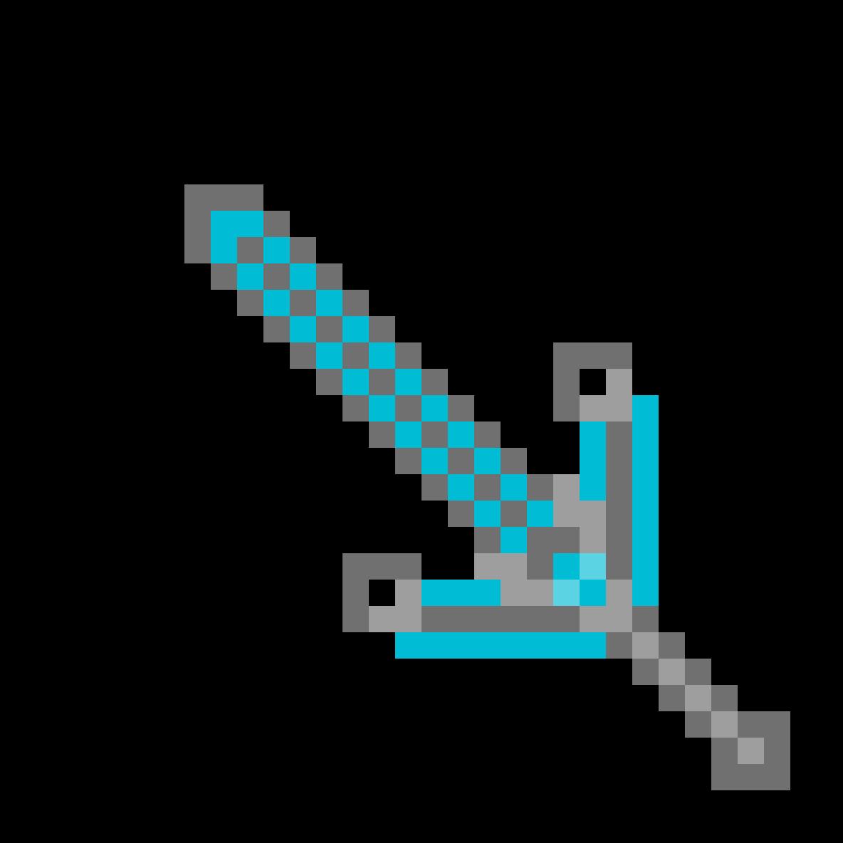 titanium star stone sword  by CodebotLB