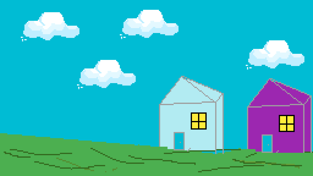 Neighborhood by Fox-Draws