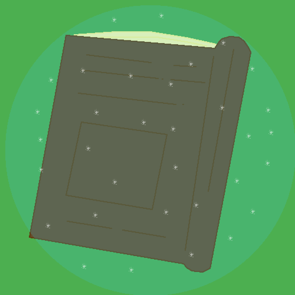 Magic Spell Book by DezzyBugDrawz
