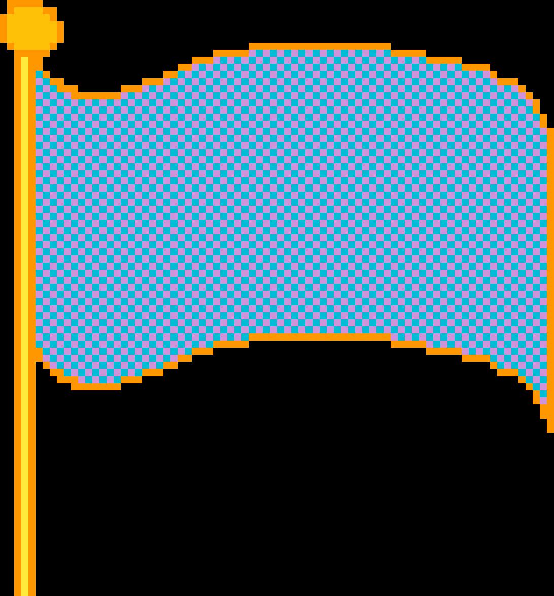 Flag by ILOVEPIXELART
