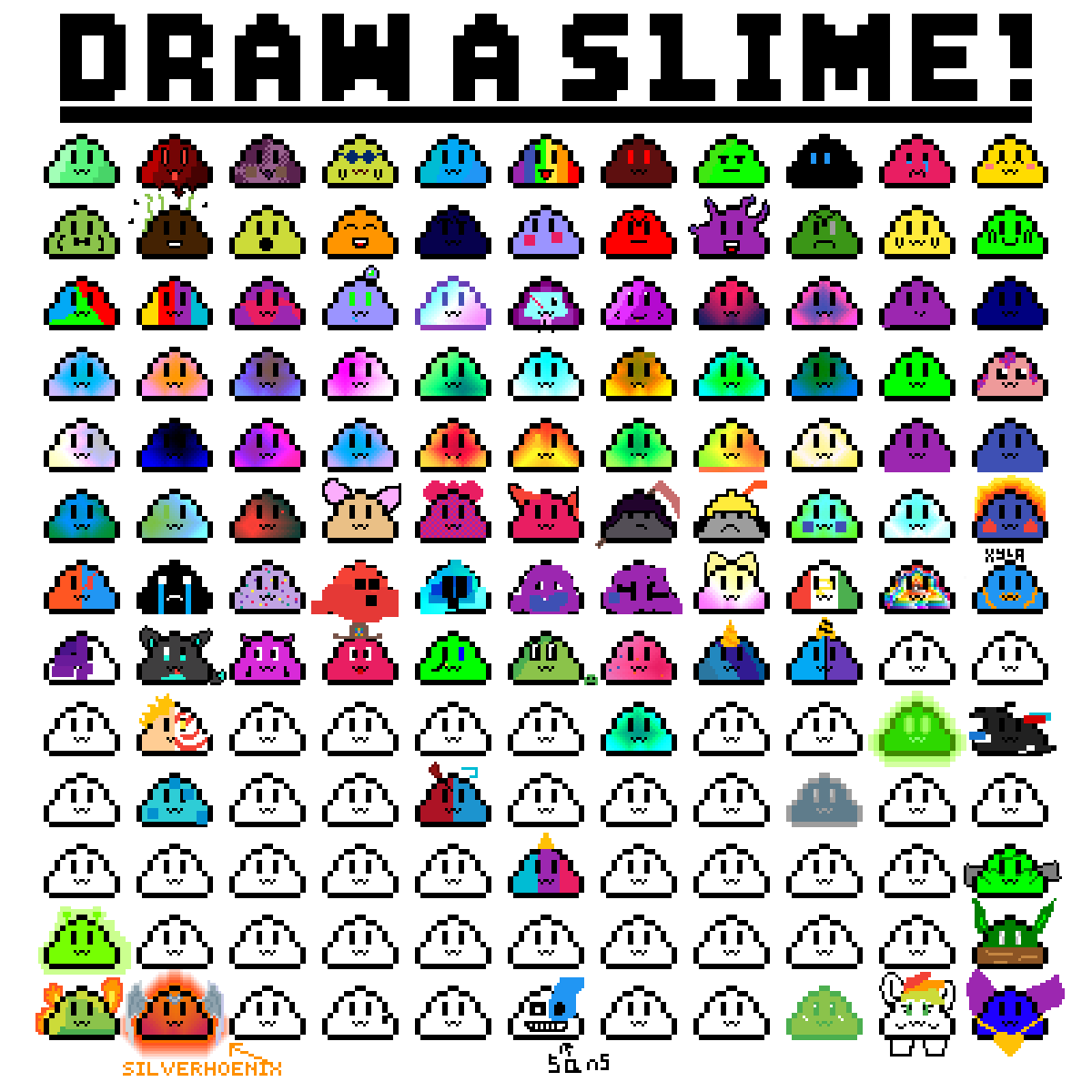 Draw you'r own slime! by TreyKing