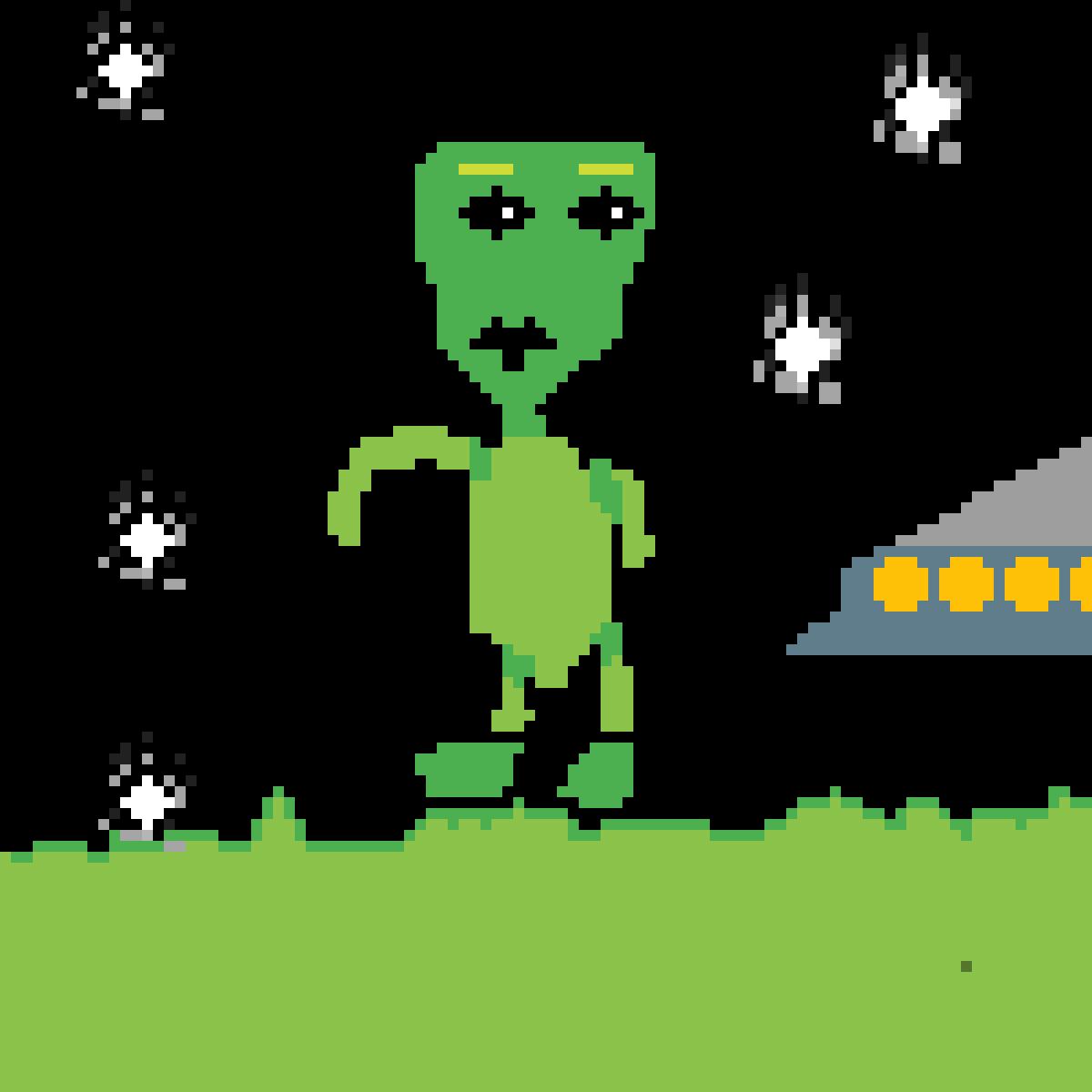 alien by PigbombincYT