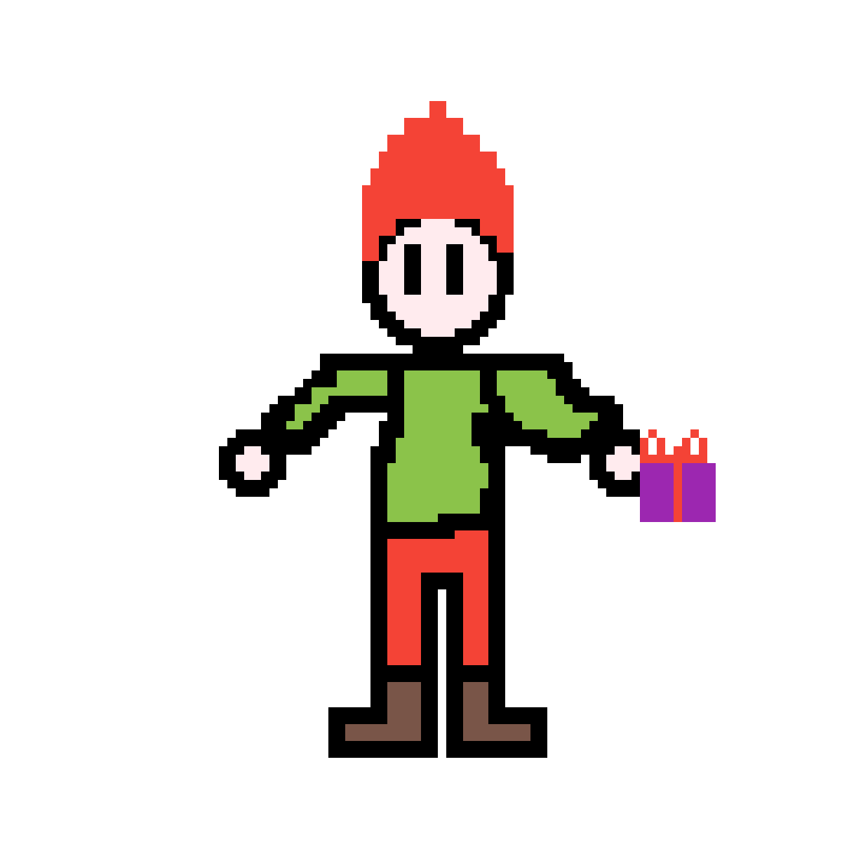 Christmas kid by Michael127