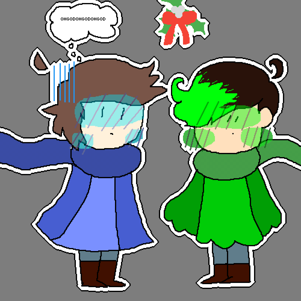 main-image-Under the mistletoe with the love of my life.  by TheHolyPeanut