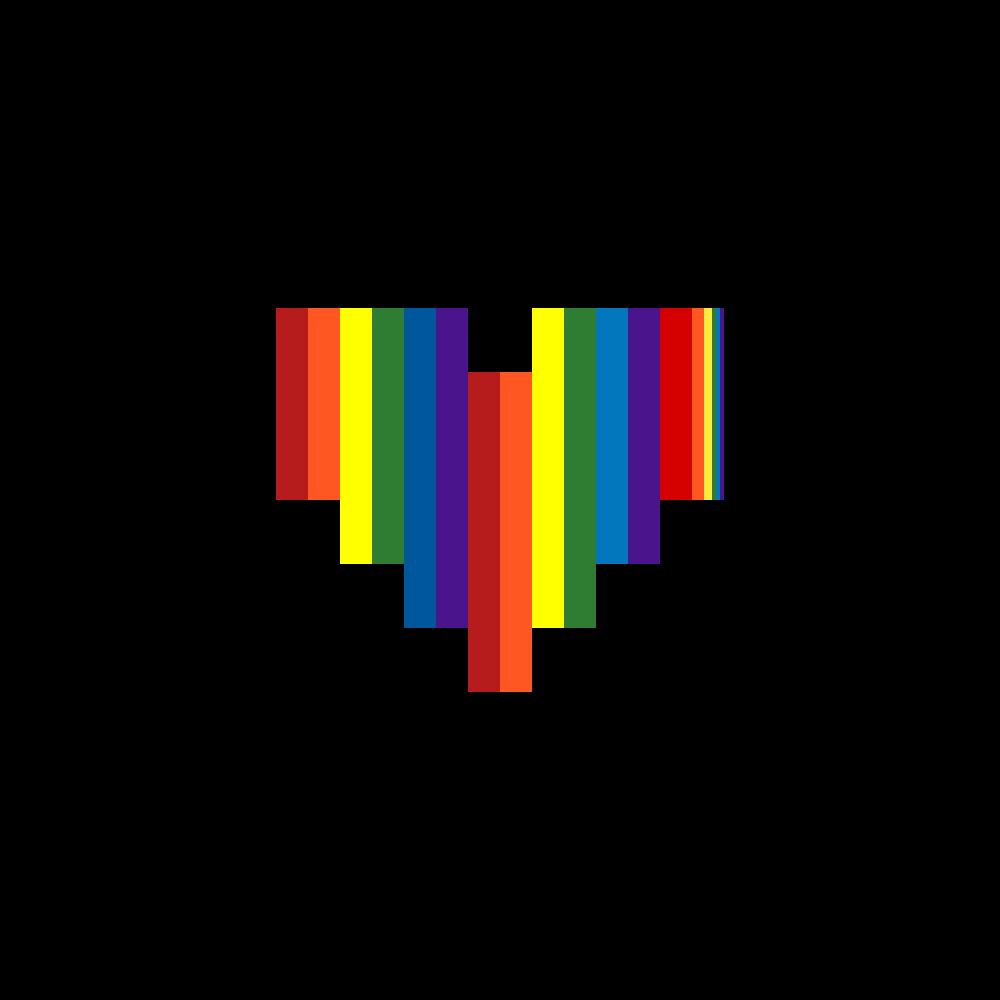 Rainbow Heart by urjgnevfskmD