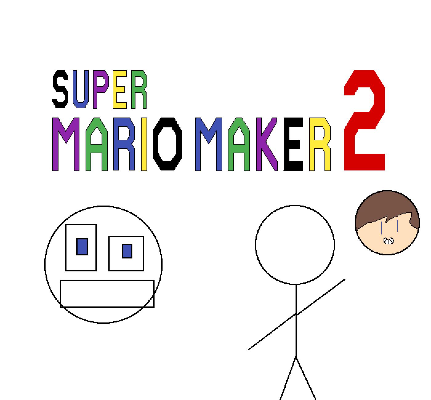 Super Mario Maker 2 level code by stevenbrine