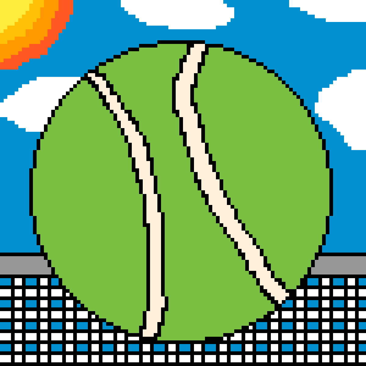 main-image-Tennis Ball  by MiguelMCF22