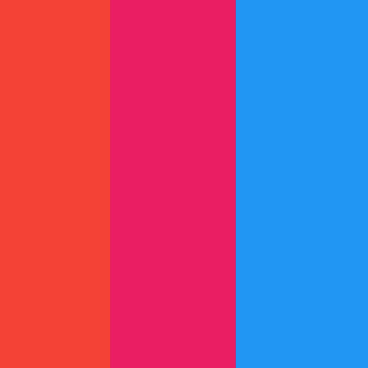 orange pink blue by Pinkunicorn