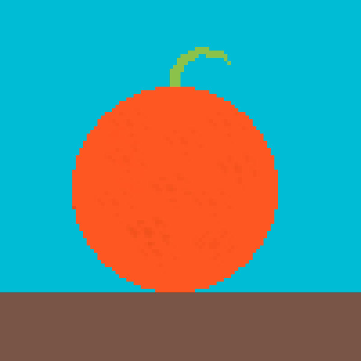 orange by KINGZEALGAMER