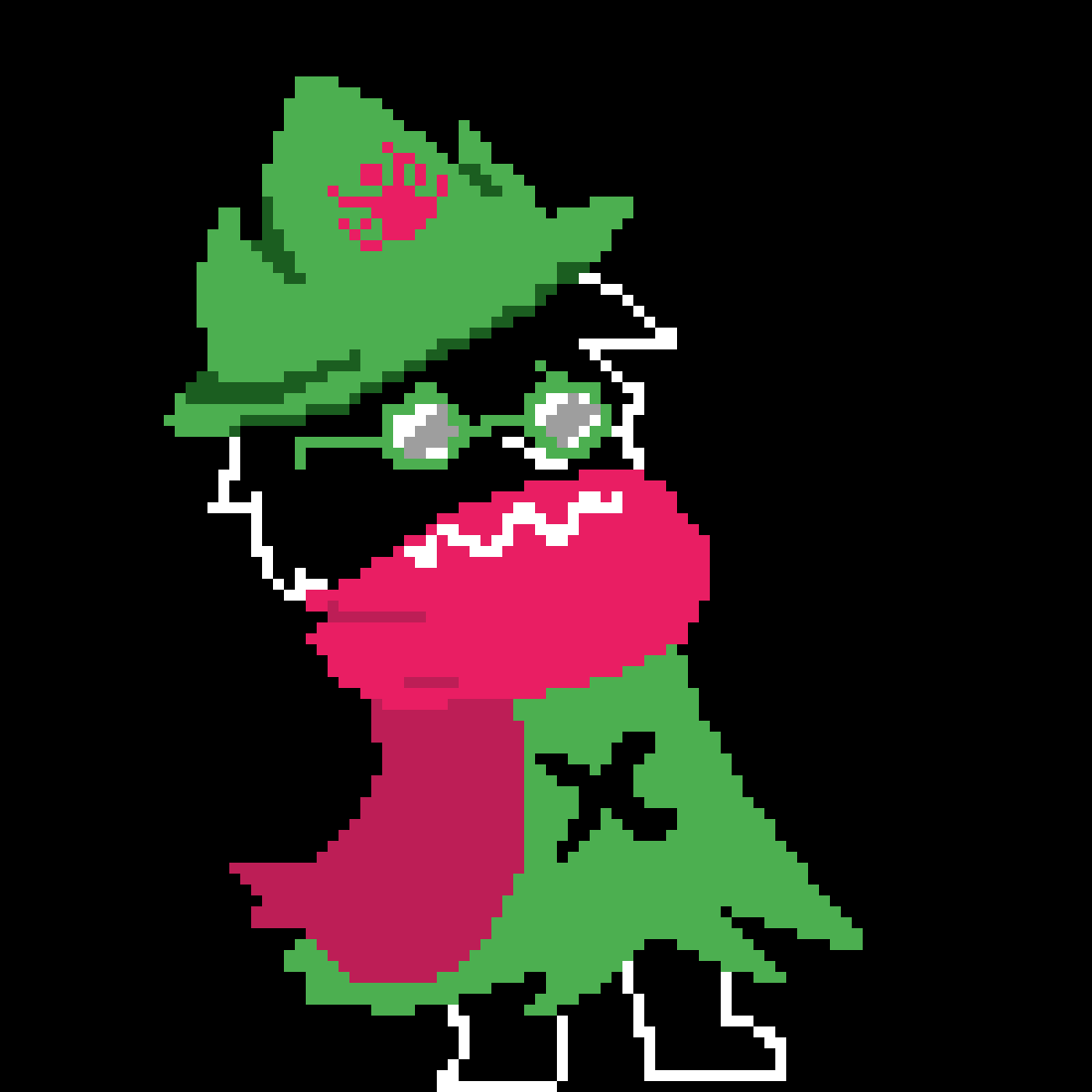 AU Ralsei by Unsolvable