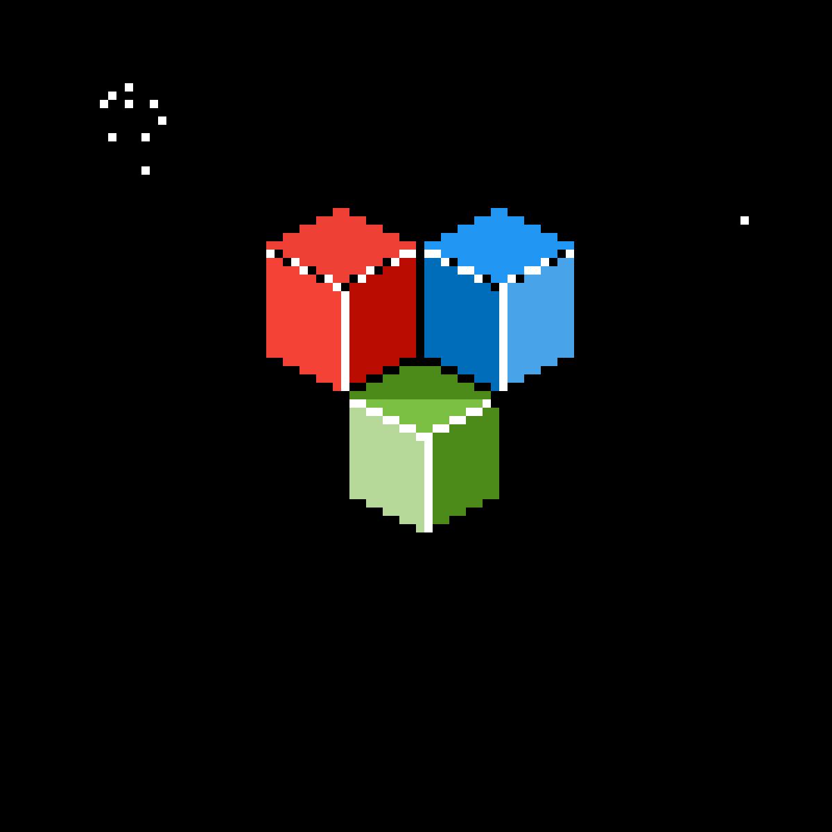 Cubes Cubed #3 by lizadraws
