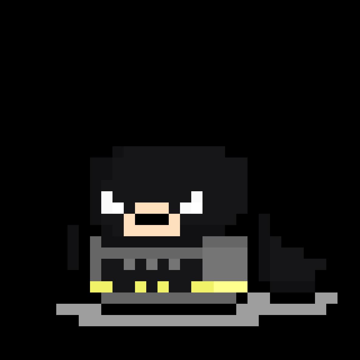 Meepman(Batman) by MeepMeep
