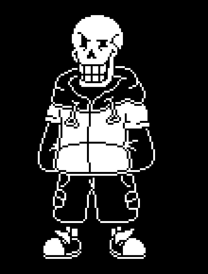 main-image-TS!UnderSwap Papyrus  by IsaPixelMaker