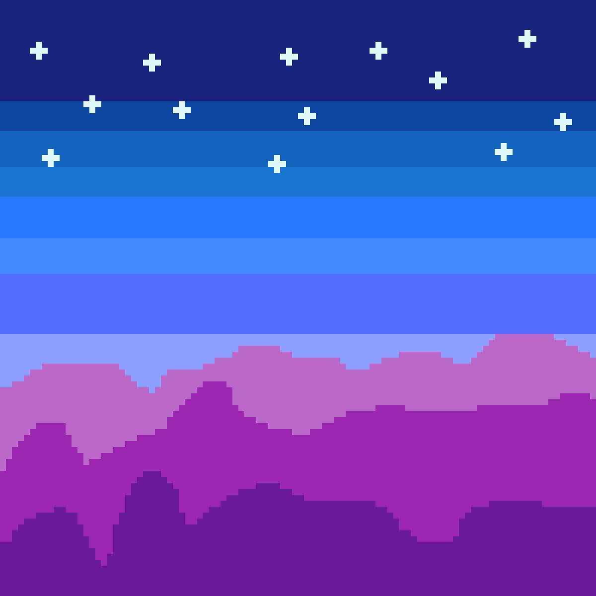 My Night Sky by Indigo-Glitter