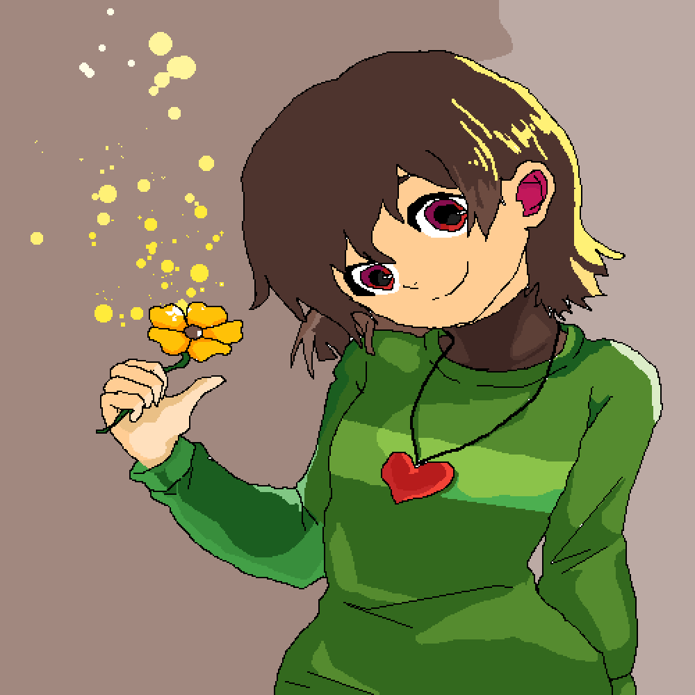main-image- (undertale) chara  by its-zygarde-omg