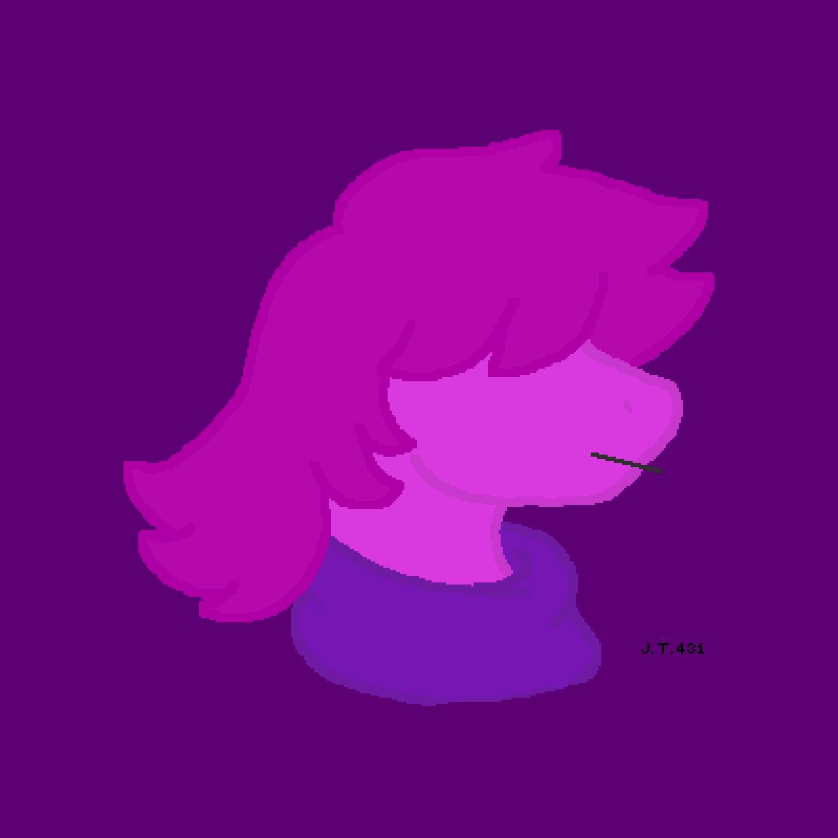 Susie from Deltarune
