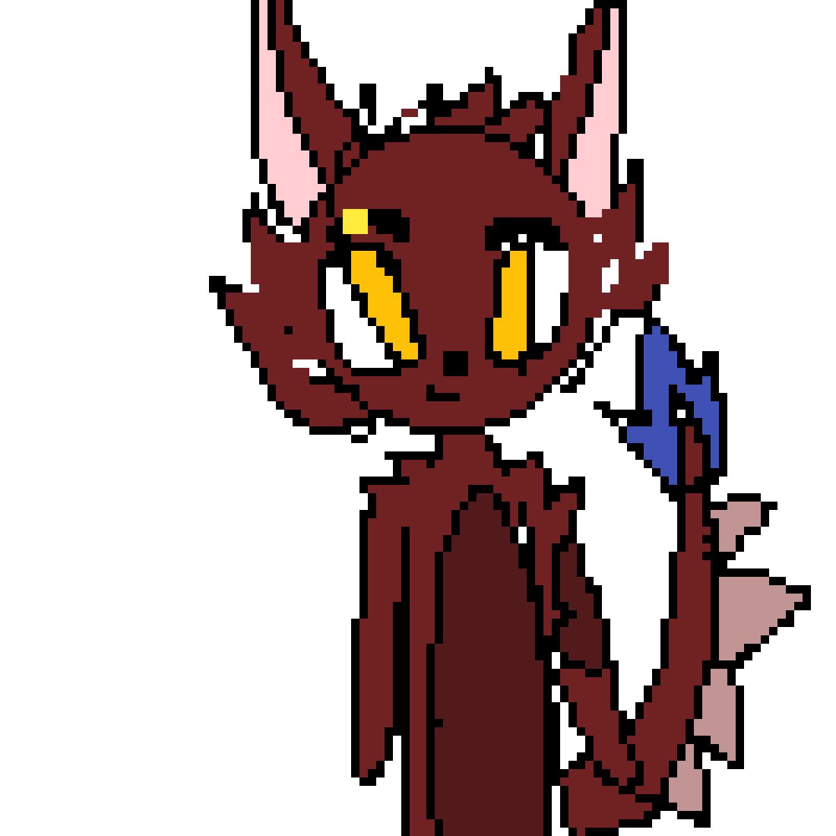 LilKat059 's OC in my style