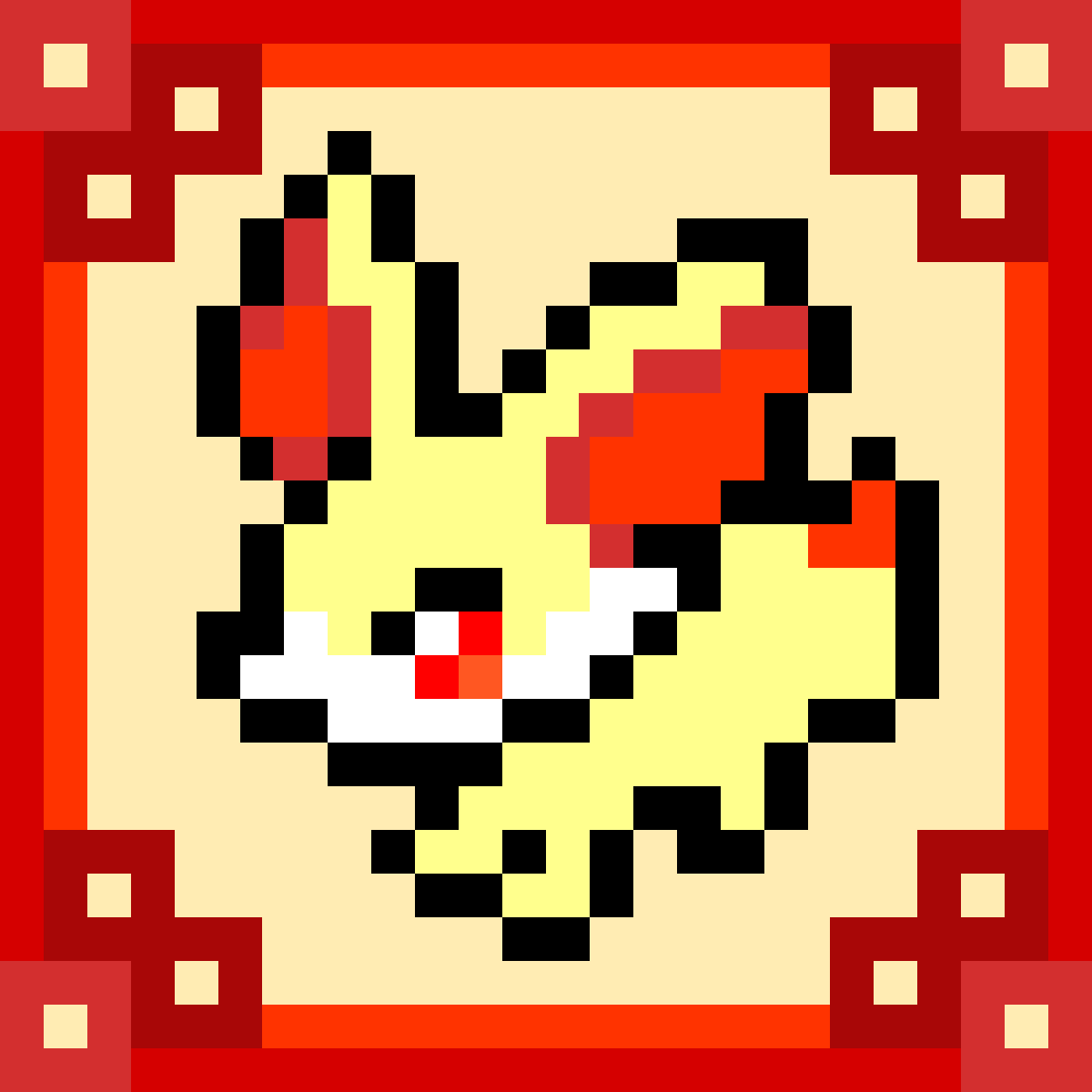 Pixilart Pokemon Fennekin By Sunstar Pokemon