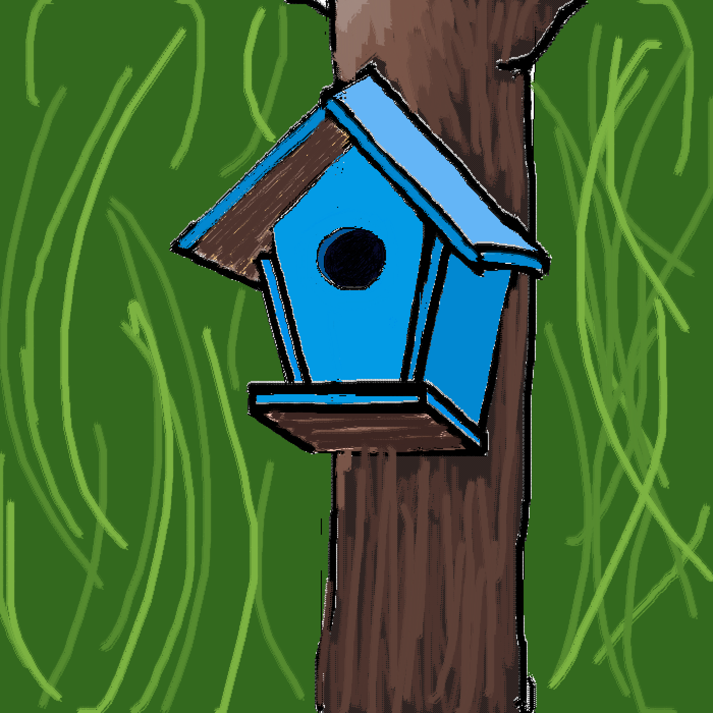 Little House on the Tree by Superstar123