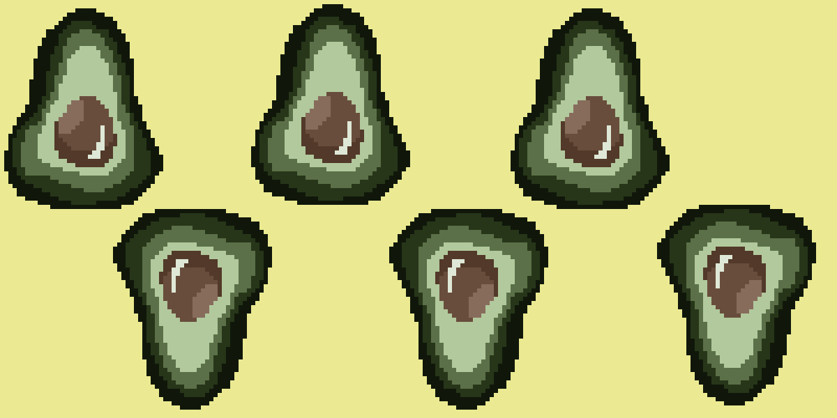 Avocado Background  by ArtbyChaiitea