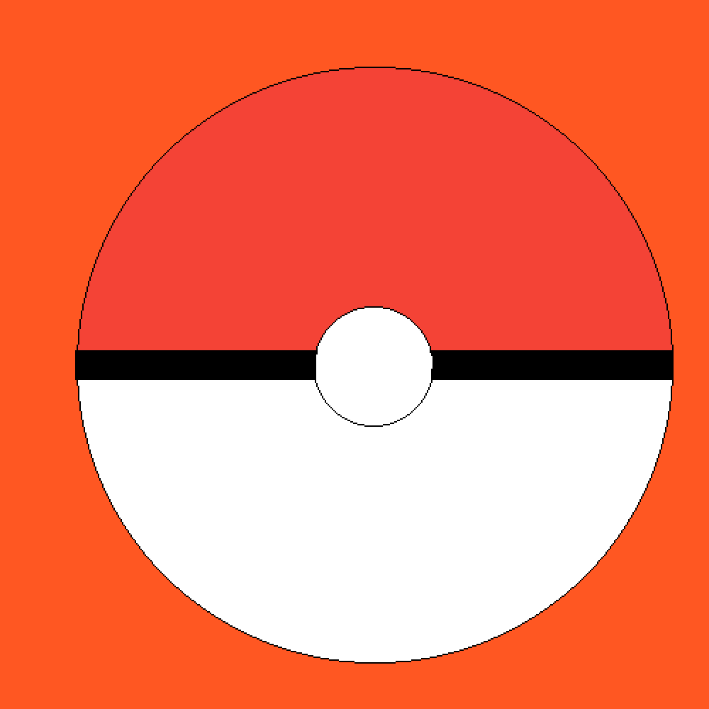 Giant Pokeball by OrangeBowser039