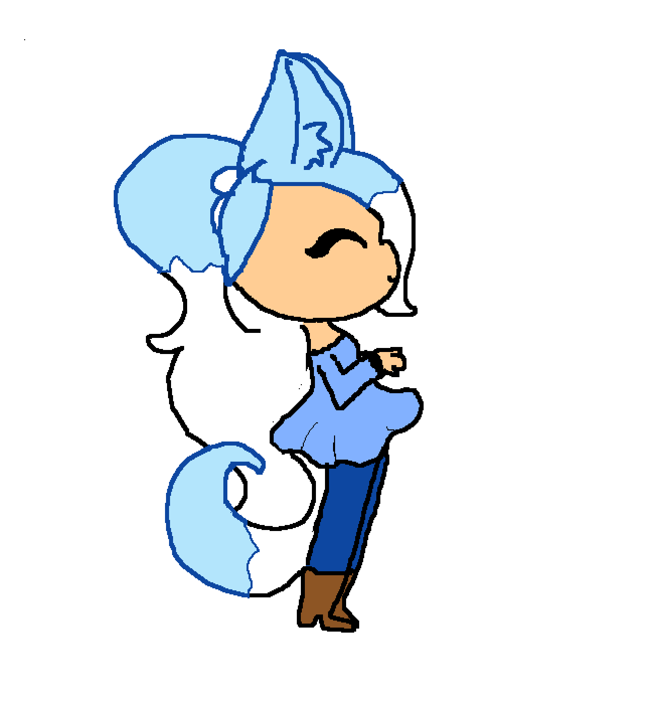 Frost My New Oc Flares sister