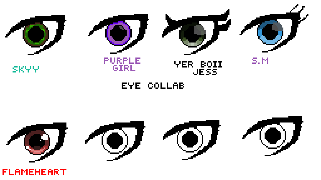 Eye collab by FlameHeart