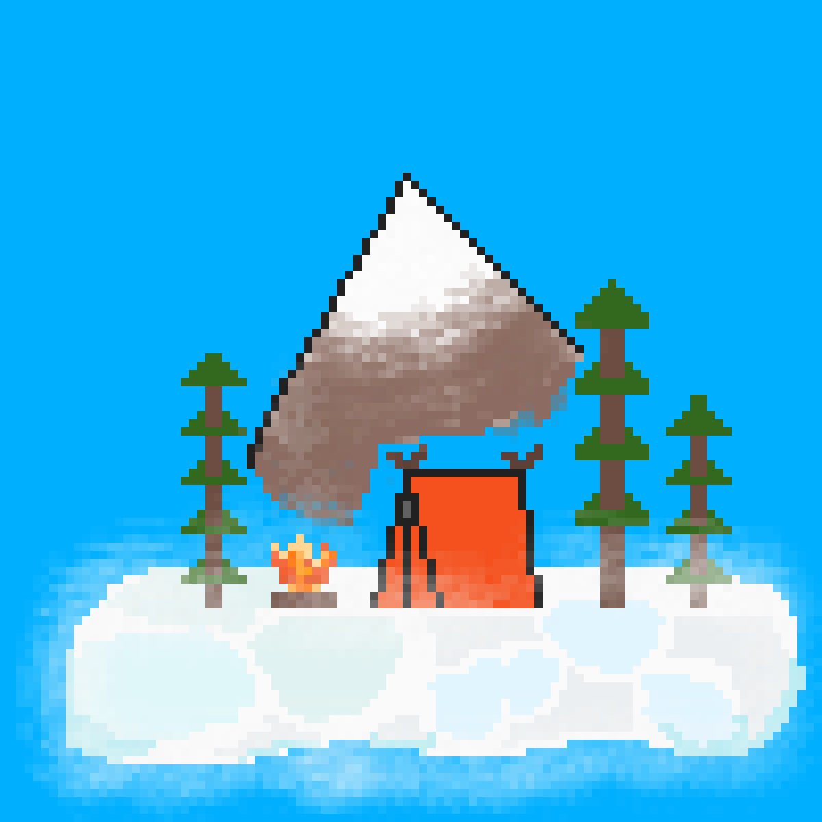 Cloud Camp by Genenian
