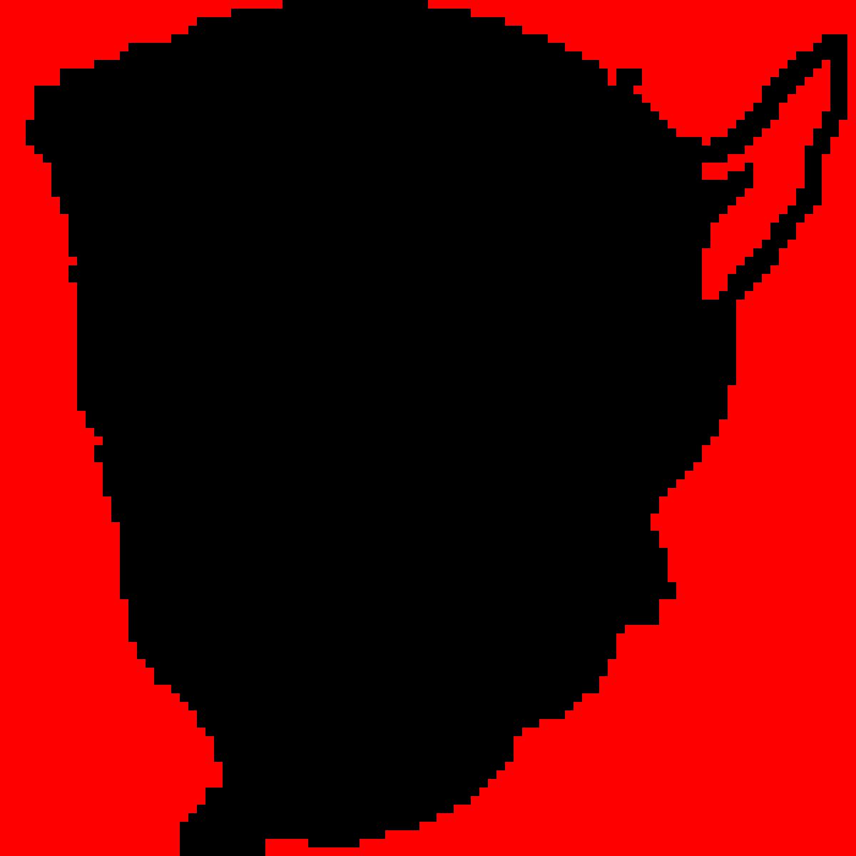 Pixilart Dodge Demon Logo By Tornadolucas777
