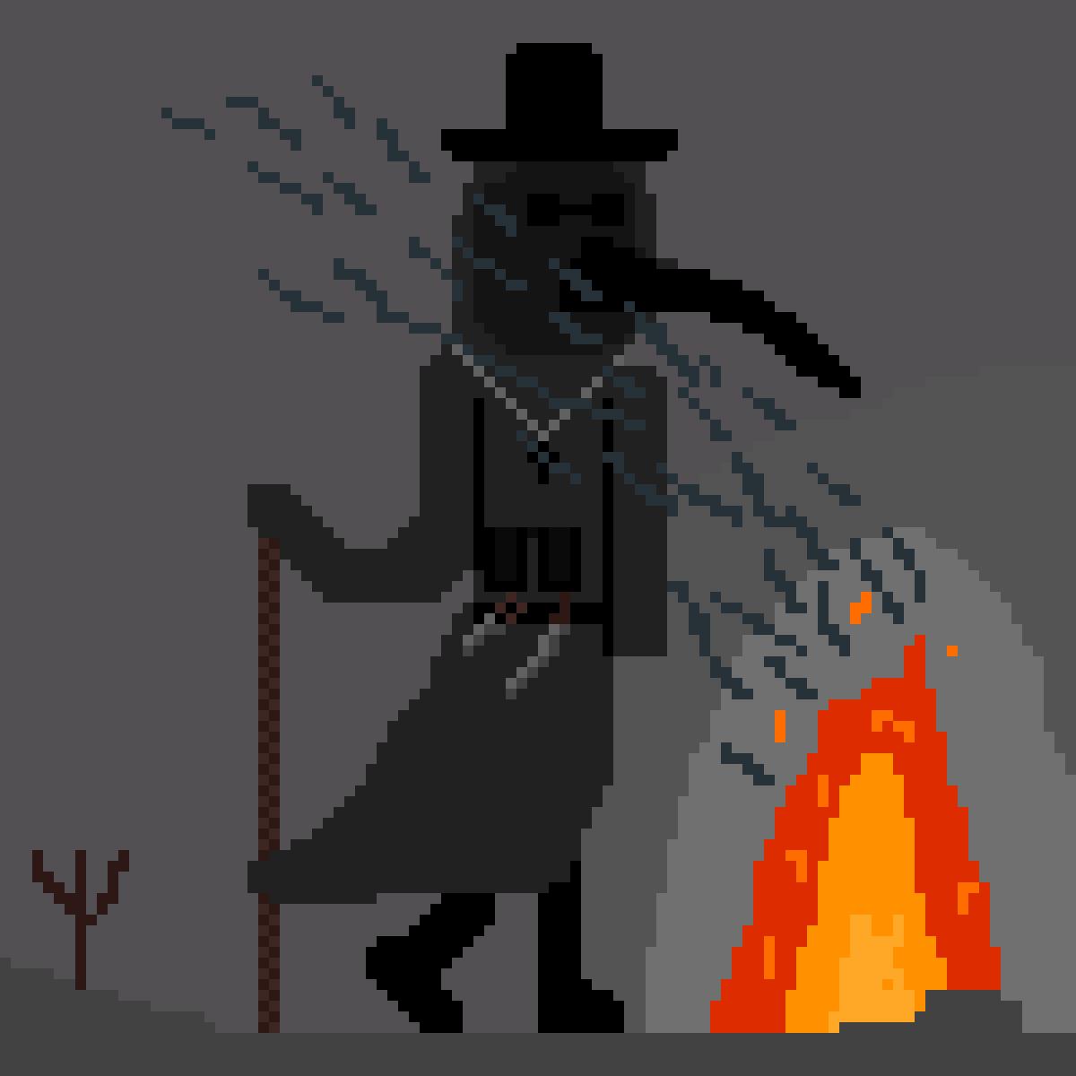 plague doctor by NEKRO
