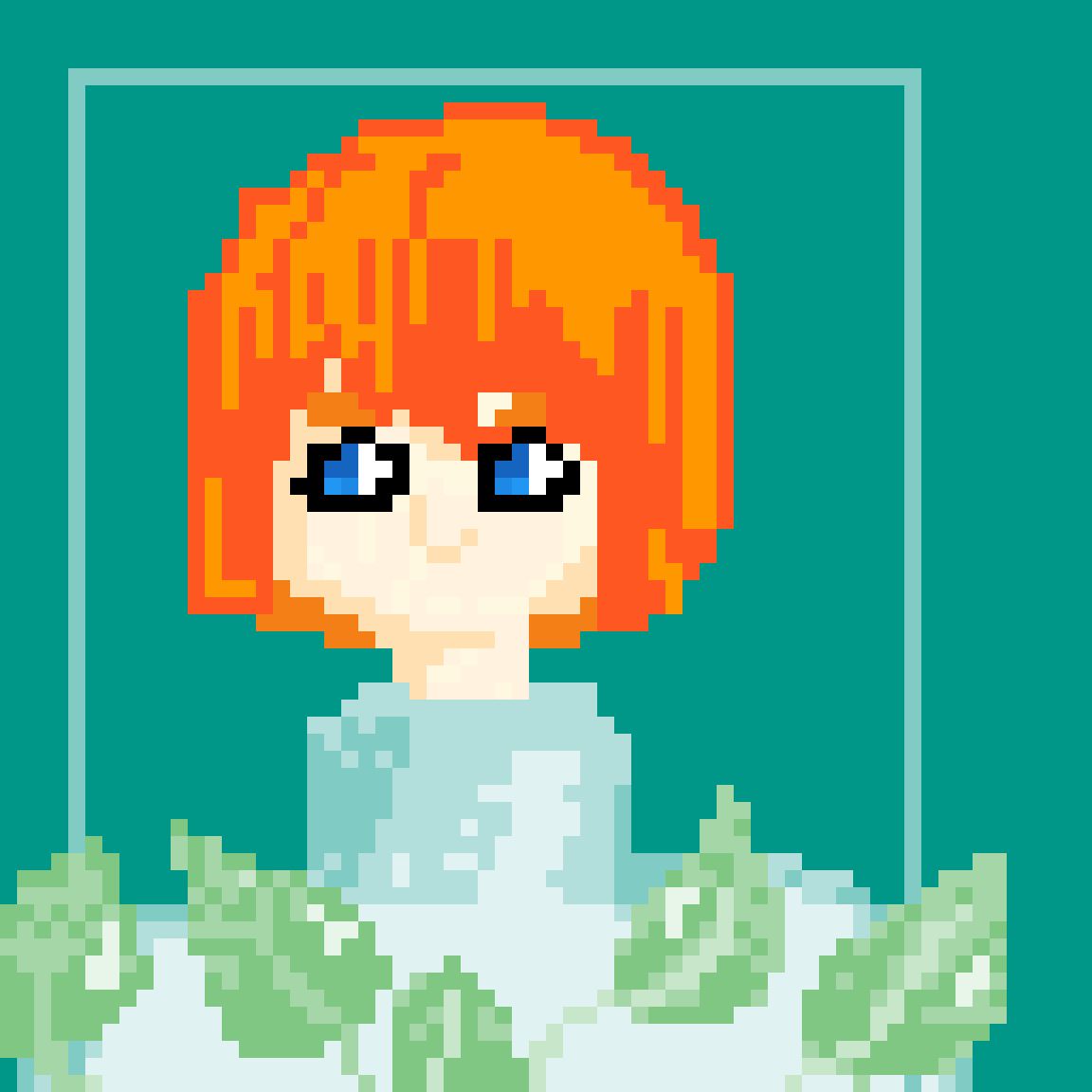 Plant girl by limeade