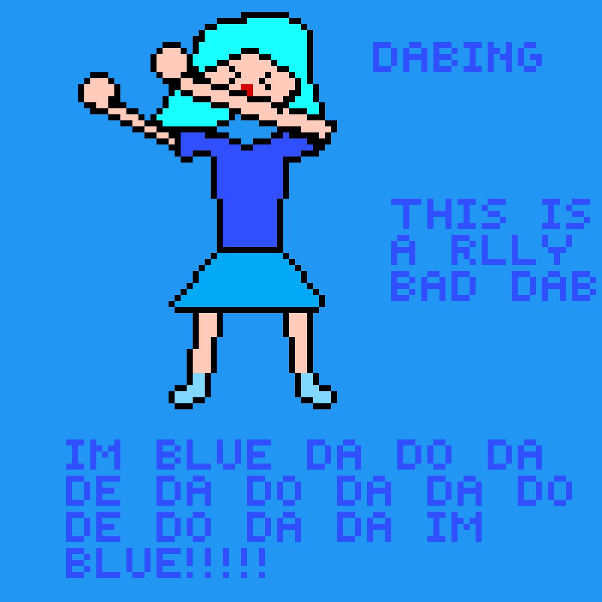 IM BLUE by mjadec11
