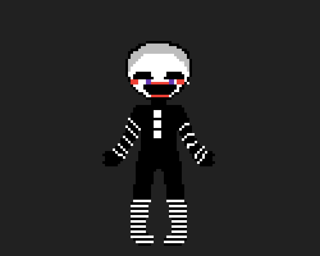Marionette pixelated