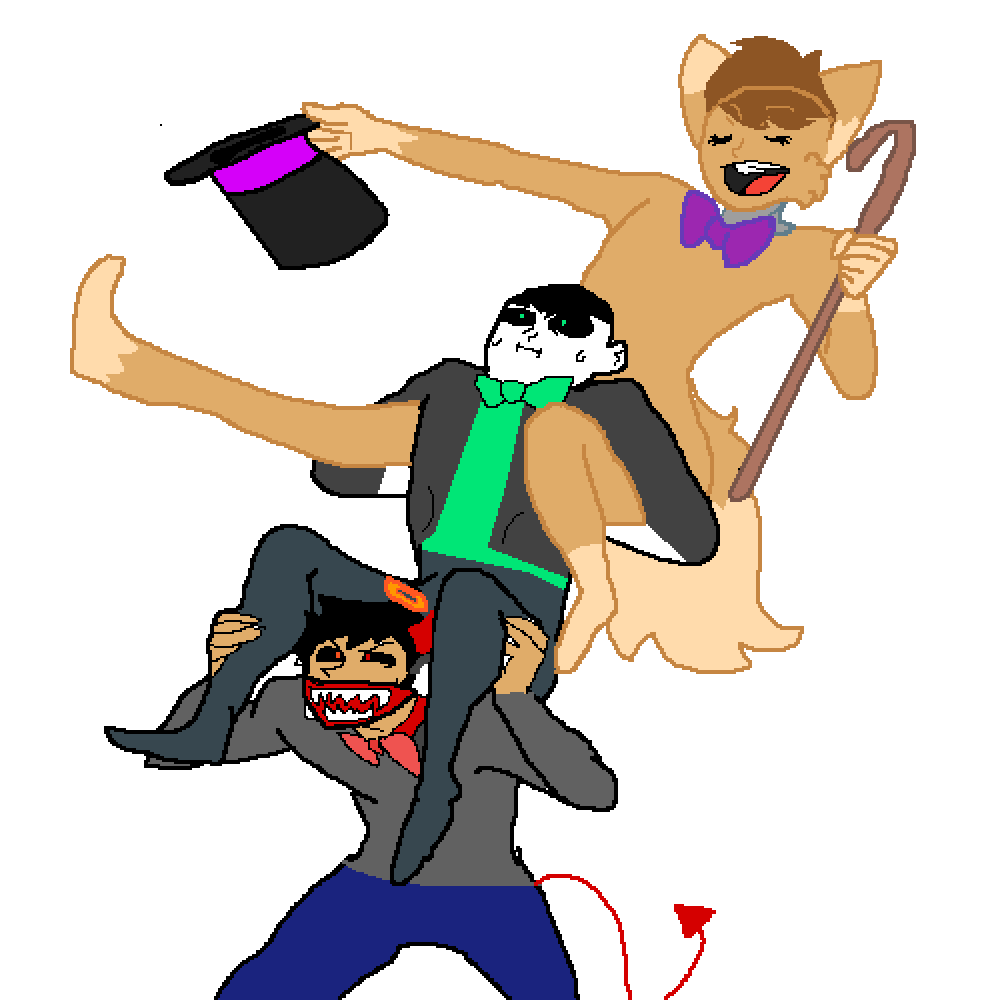 im going to make everyone fall by foxpersonwolf