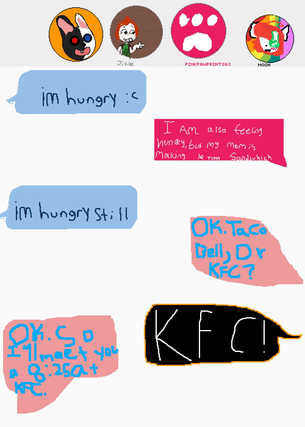 our vote for KFC won! by DakotaChase15