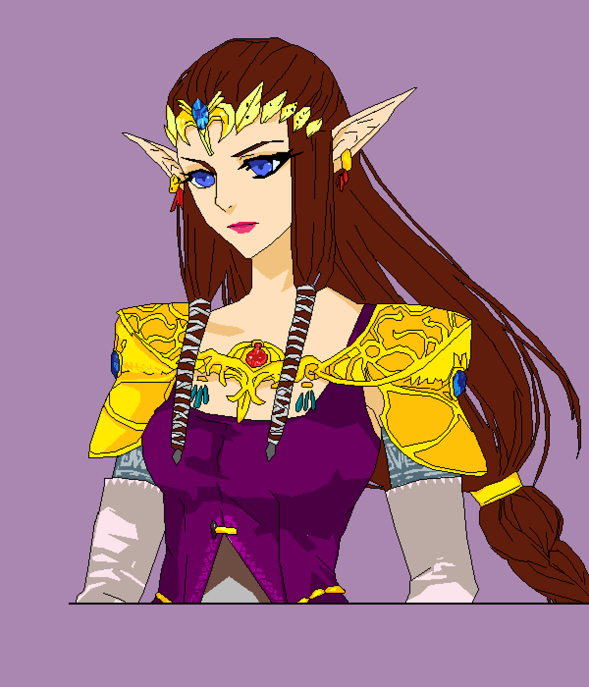 Princess Zelda Twilight princess by pringlez