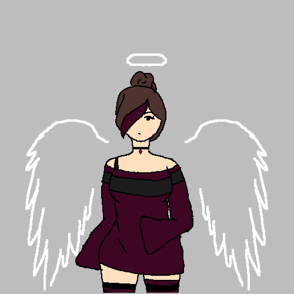Angel by Anxie-tea