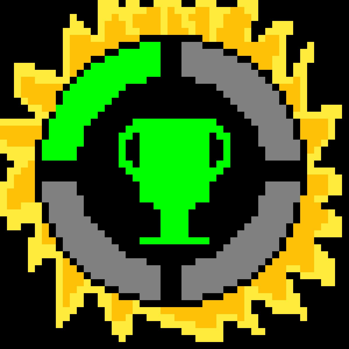 Pixilart Game Theory Logo By Gamergirlh