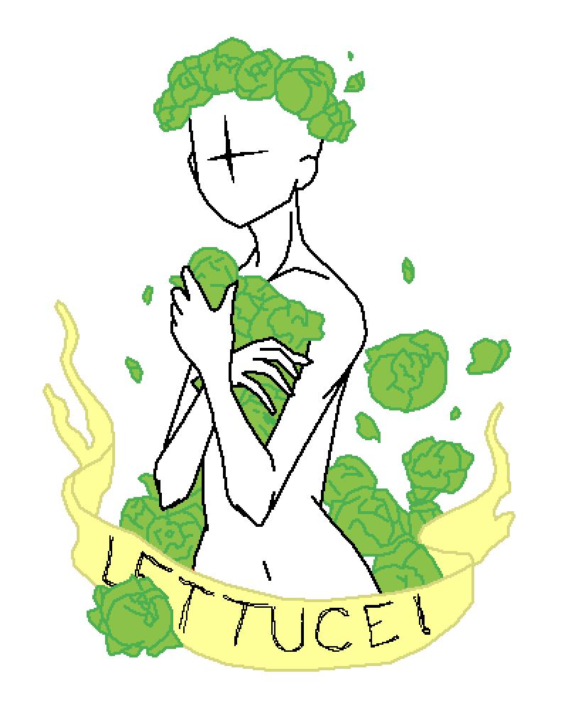 Lettuce. by Osseus