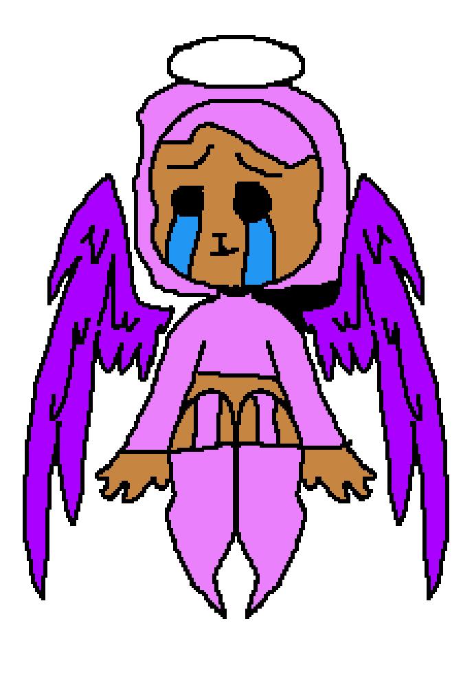 depressed angel by thurstycamel