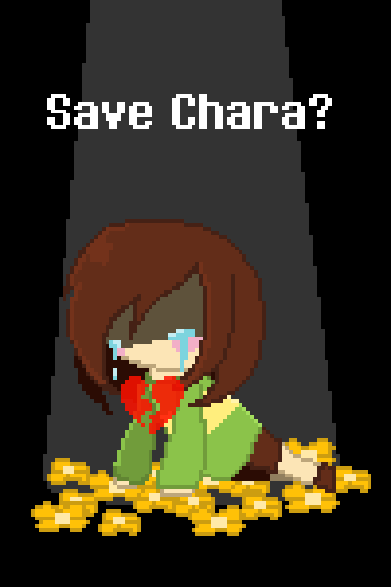Save Chara? by KittychuYT