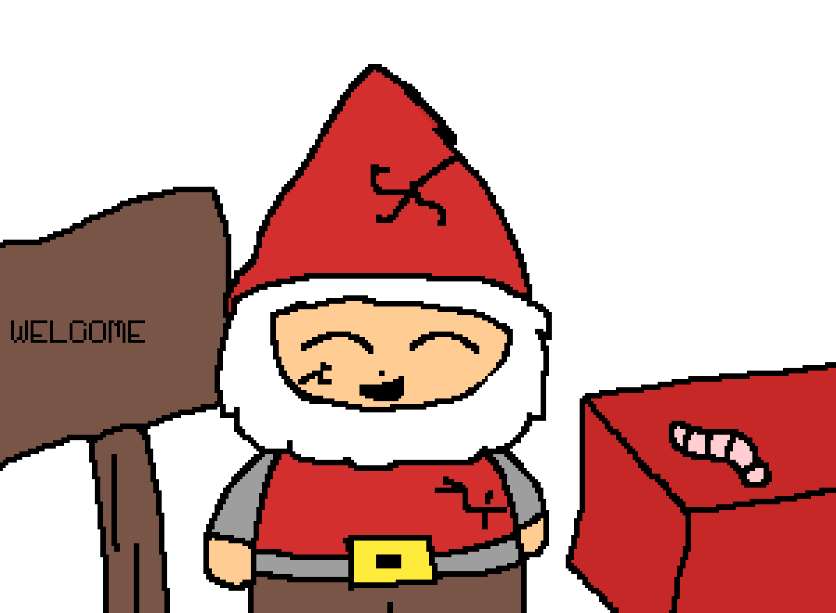 gnome by Itzyaboiwolfy