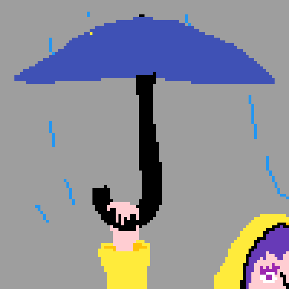 first pixel drawing by SlinkyWizard628