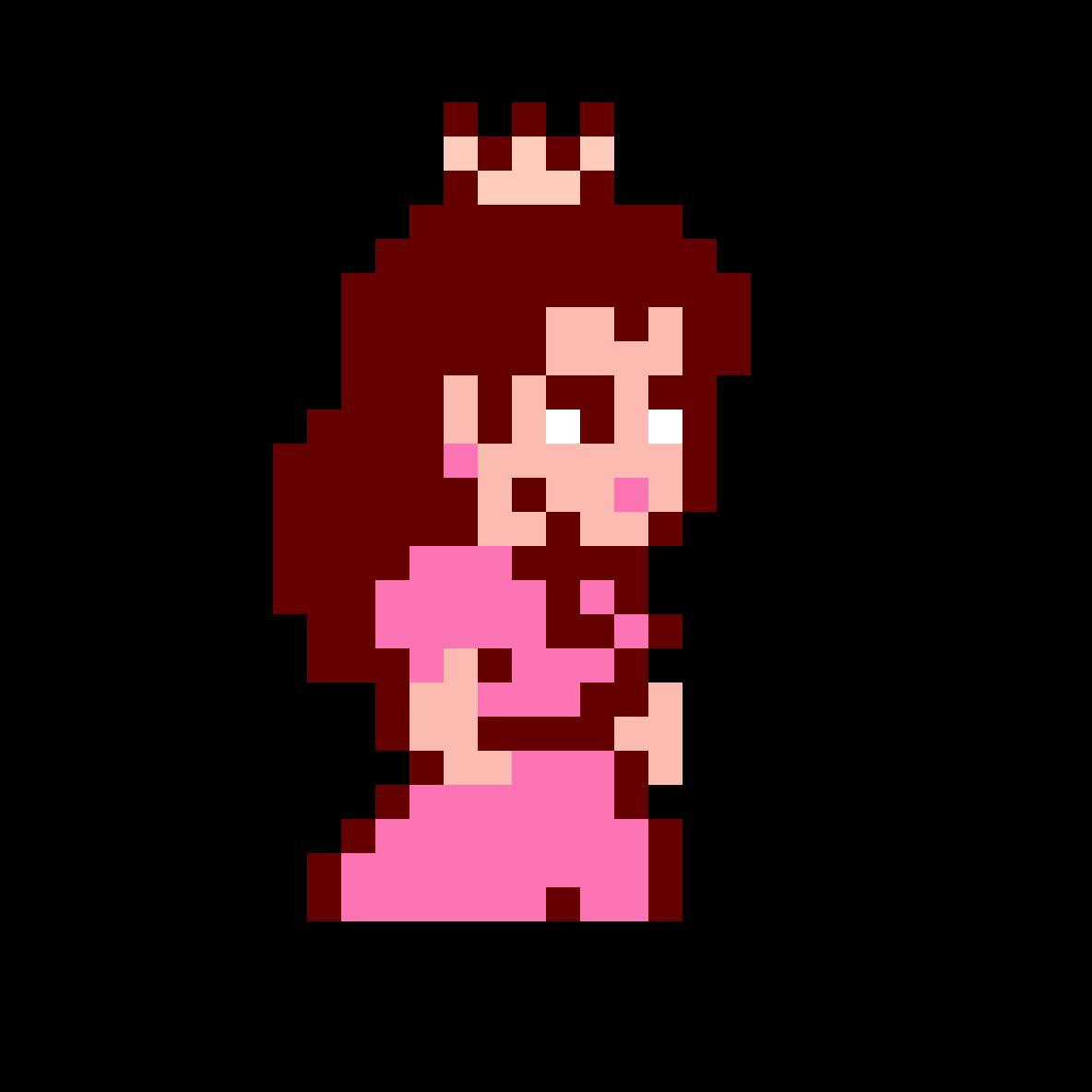 Pixilart Princess Peach Super Mario Bros 2 By Victoria Rose